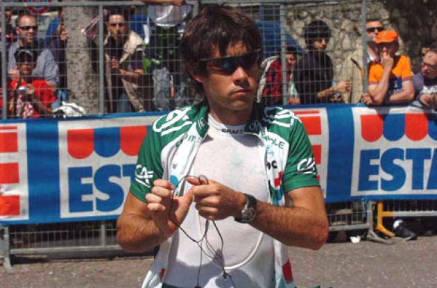Julian Dean - Credit Agricole sprinter. Photo copyright Roadcycling.com.