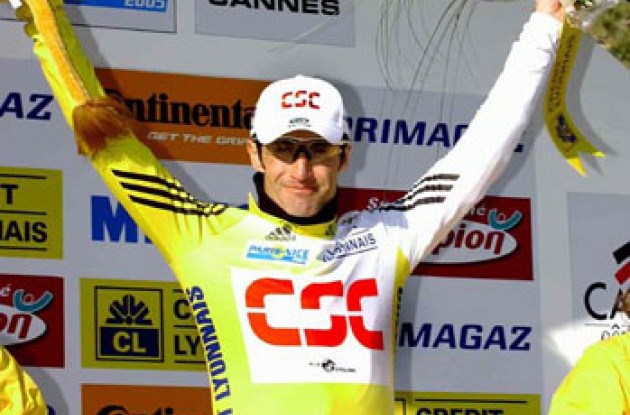 Bobby Julich at Paris-Nice. Photo copyright Fotoreporter Sirotti.