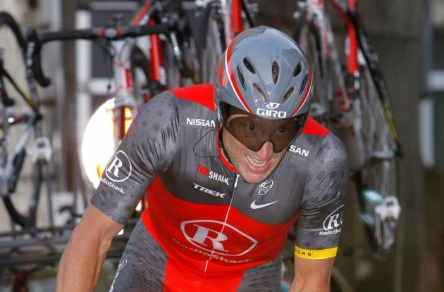Lance Armstrong - Team RadioShack. Photo copyright Fotoreporter Sirotti.
