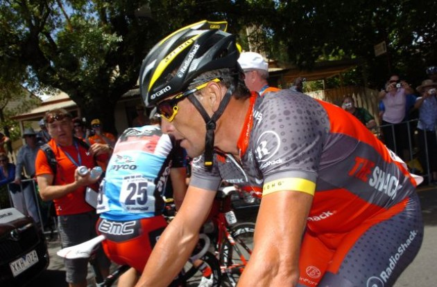 Team RadioShack's Lance Armstrong to ride the 2010 Milan-San Remo. Photo copyright Fotoreporter Sirotti.