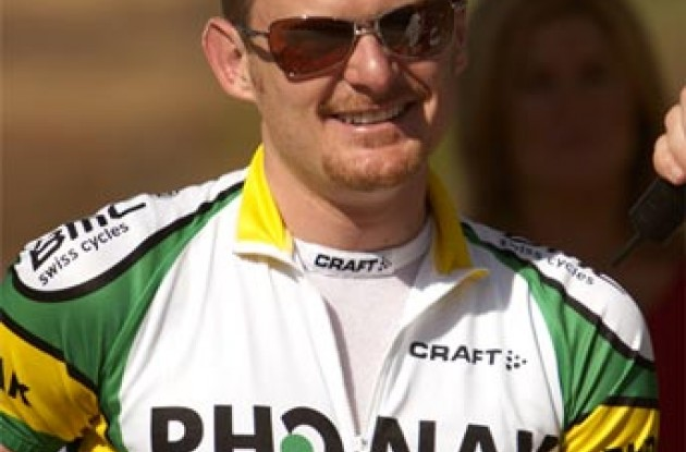 Floyd looking cool. Photo copyright Ben Ross/Roadcycling.com.