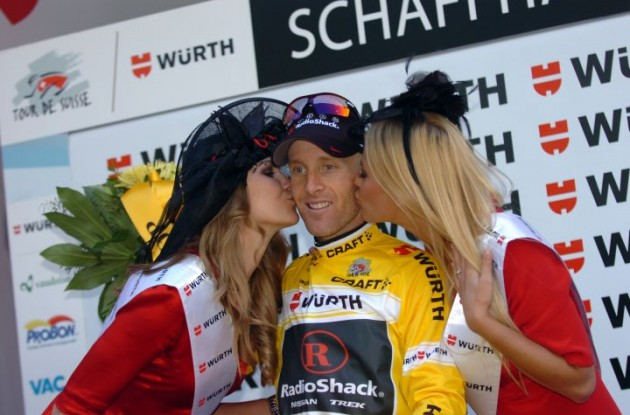 Levi Leipheimer will ride for Team Quick Step in 2012 and 2013. Photo Fotoreporter Sirotti.
