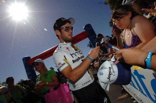 Mark Cavendish is ready to fight for stage wins in the 2011 Giro d'Italia. Photo Fotoreporter Sirotti.