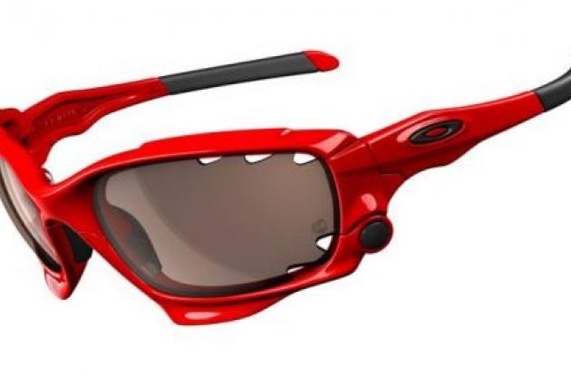 Oakley Jawbone sunglasses.