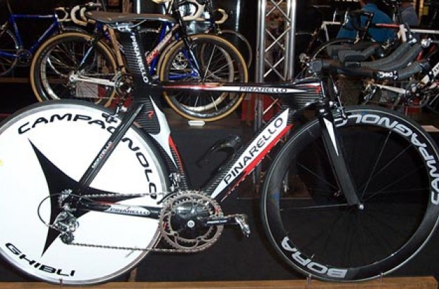 Pinarello Montello. Photo copyright Roadcycling.com.