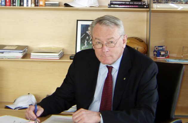 Richard W. Pound, President of the World Anti-Doping Agency. Photo copyright WADA.