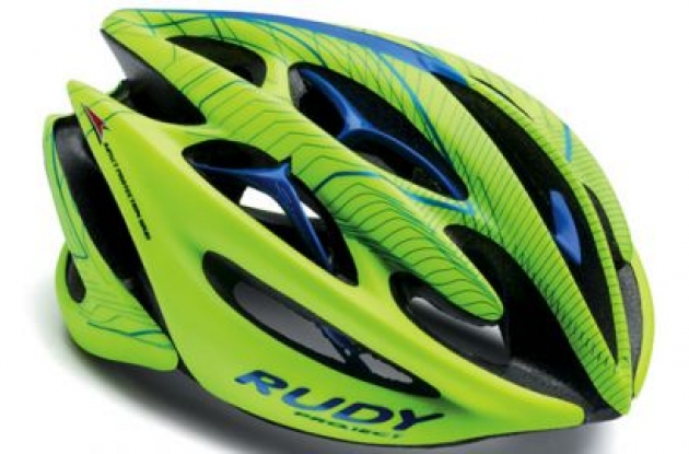 Rudy Project Sterling Helmet Review. Photo copyright Roadcycling.com.