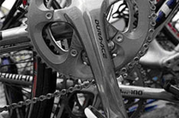 Shimano's new 10 speed Dura-Ace.