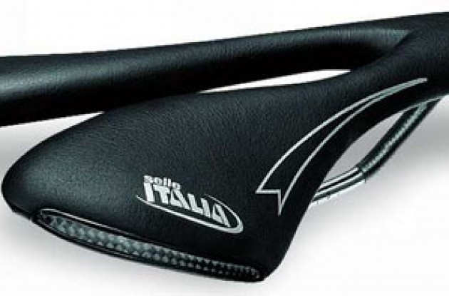 Selle Italia SLC. Photo copyright Roadcycling.com.