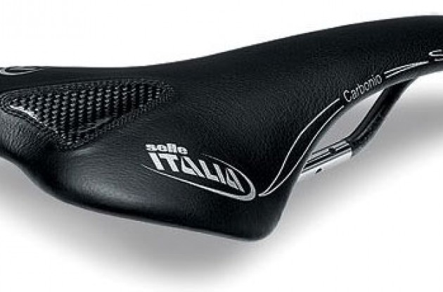 Selle Italia SLR Kit Carbonio saddle. Photo copyright Roadcycling.com.