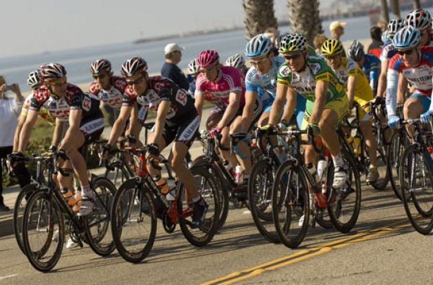 Happy riders in California. Photo copyright Roadcycling.com.