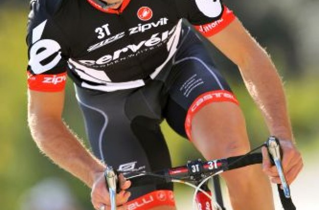 Thor Hushovd (Cervelo TestTeam). Photo copyright Tim DeWaele.