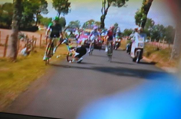 Tour de France carnage.