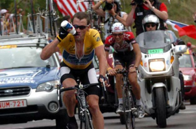 Lance Armstrong gained important time on his main rivals today and now leads the Tour de France by 03:48. His closest rivals are Ivan Basso, Andreas Klöden and Jan Ullrich. Tomorrow is the hardest mountain stage of the Alps and will feature three category 1 climbs and the famous Col de la Madeleine. Will Armstrong take the win again, or will Basso, Rasmussen or Virenque succeed? Stay tuned to Roadcycling.com to find out!