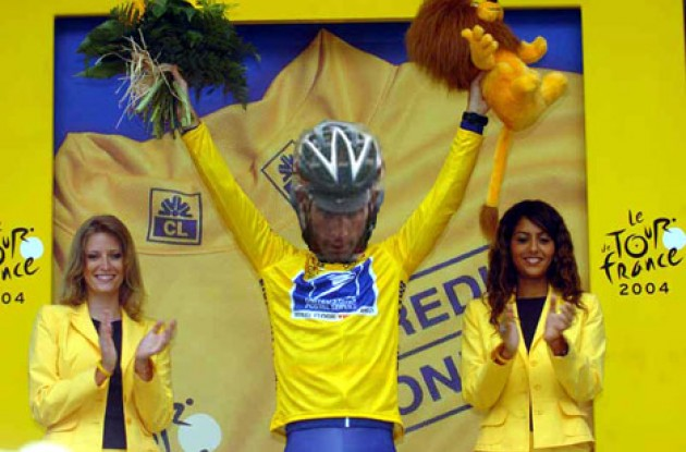 "Because of the ""Super Dave Invocation"" rule, Hincapie is Dave's man in yellow. Yiii haaa!"