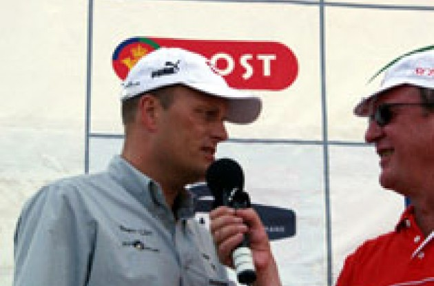 Interview with Team CSC boss Bjarne Riis. Care to comment?
