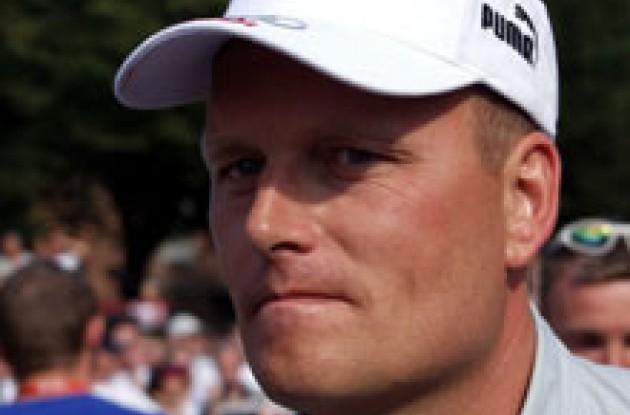 Team CSC boss Bjarne Riis.