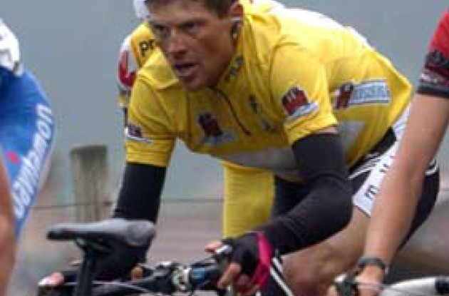 Jan Ullrich was able to maintain his overall lead today.