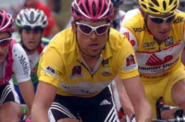 Jan Ullrich looks strong and is getting ready for the Tour de France.