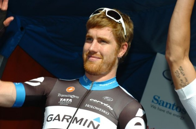 Tyler Farrar (Team Garmin-Cervelo). Photo Fotoreporter Sirotti.