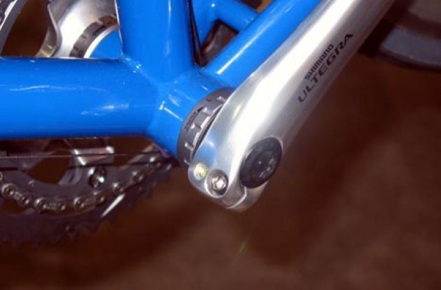 Ultegra crank. Photo copyright Roadcycling.com.
