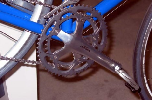 Ultegra double. Photo copyright Roadcycling.com.