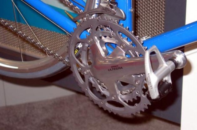 Ultegra triple. Photo copyright Roadcycling.com.