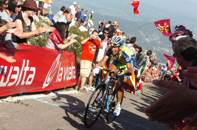 Vincenzo Nibali (Liquigas). Photo copyright Fotoreporter Sirotti.