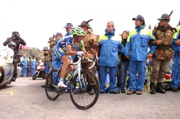 Vincenzo Nibali. Photo Fotoreporter Sirotti.