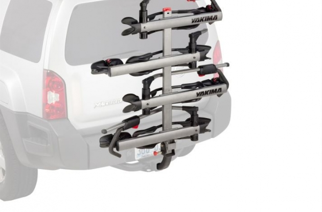 Yakima HoldUp Plus 2 4-bike hitch rack review