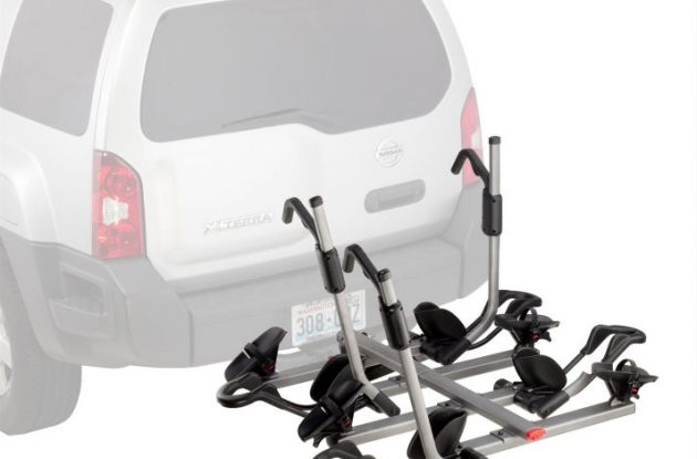 Yakima HoldUp Plus 2 4-bike hitch carrier review.
