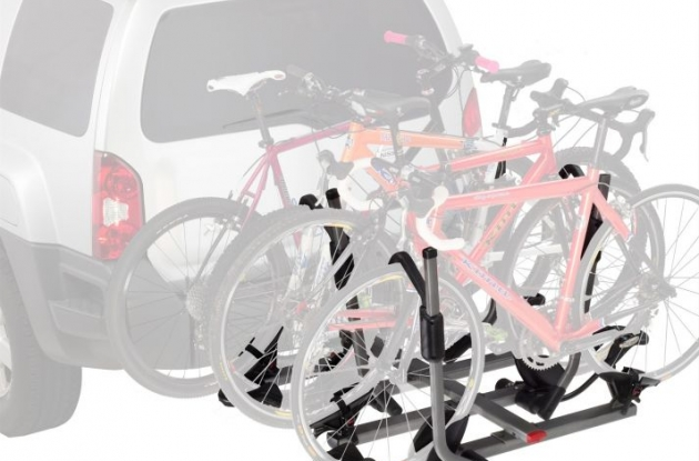 Yakima Hold Up Plus 2 4-bike hitch carrier test